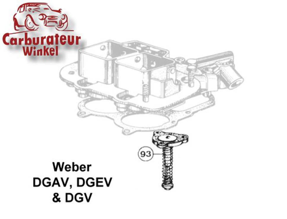 Weber Dgav Dgev Dgv Carburateur Onderdelen